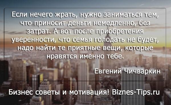 Бизнес цитатник - Евгений Чичваркин