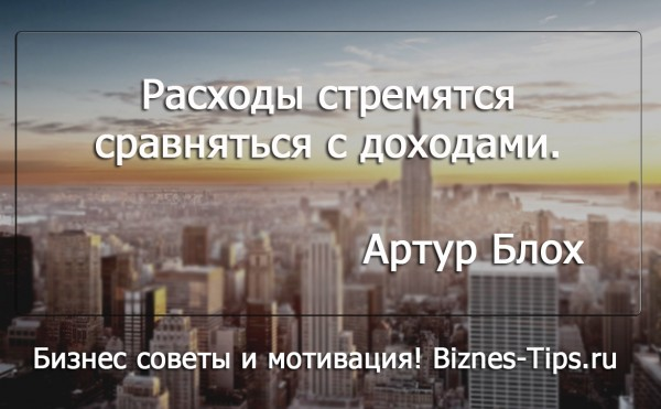 Бизнес цитатник - Артур Блох