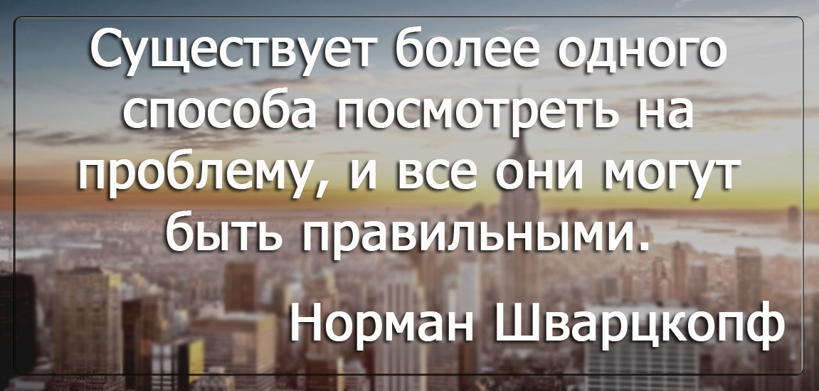 Бизнес цитатник - Норман Шварцкопф