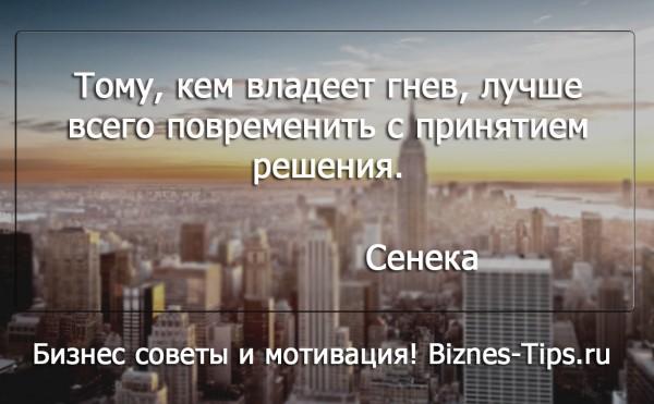 Бизнес цитатник - Сенека