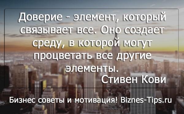 Бизнес цитатник - Стивен Кови