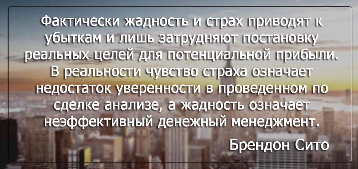 Бизнес цитатник - Брендон Сито